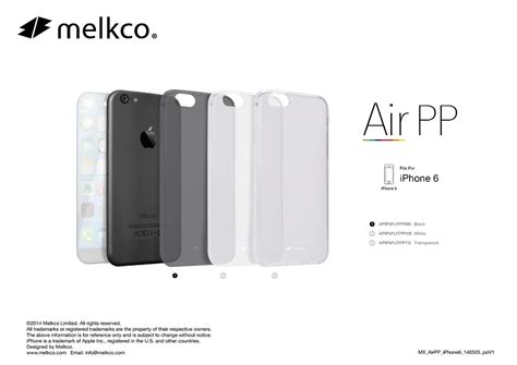 Iphone 5c Melkco Air 0 4mm leaked cases for iphone 6 mobile