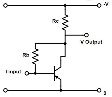 resistor across base emitter negative feed back circuit