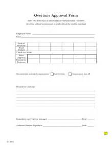 approval form template best photos of sle request for overtime sle