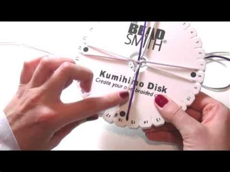 tutorial kumihimo youtube beading ideas how to use kumihimo loom part 1 knots