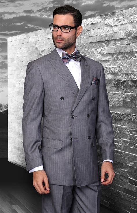 Sweater Steve Angelo statement italian wool breasted suits