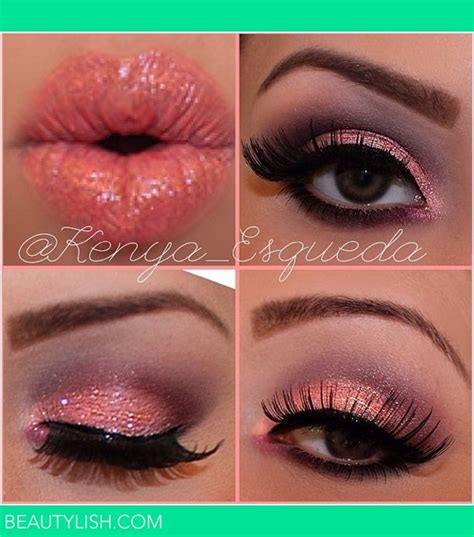 valentines makeup pink makeup look kenya e s kenya esqueda