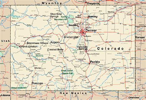 colorado map with cities 301 moved permanently