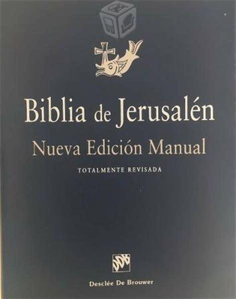 libro biblia de jerusalen os nueva edicion separadores originales de libros brick7 venta