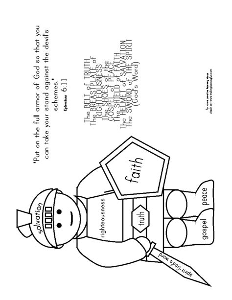 coloring pages free coloring pages of armor of god helmet