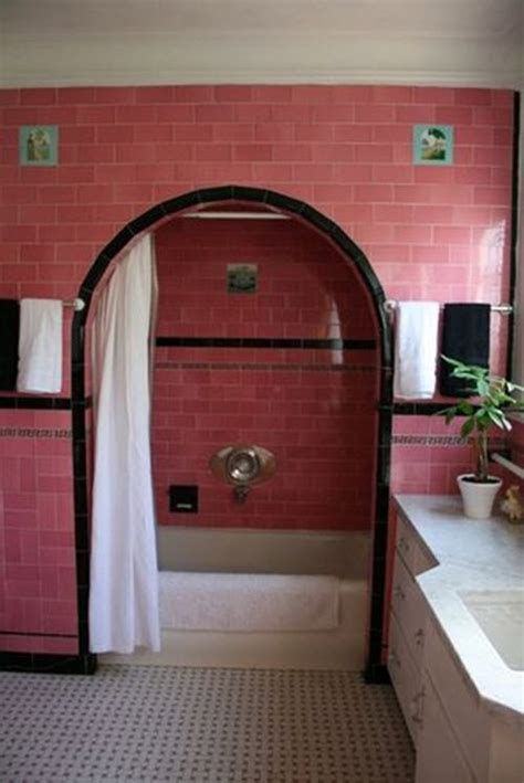 pink and black bathroom ideas 33 pink and black bathroom tile ideas and pictures