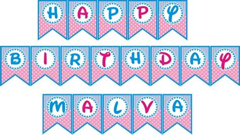 Tulisan Happy Birthday Princess Flag Banner Ulang Tahun Anak Kartun jual bendera bunting banner happy birthday perlengkapan
