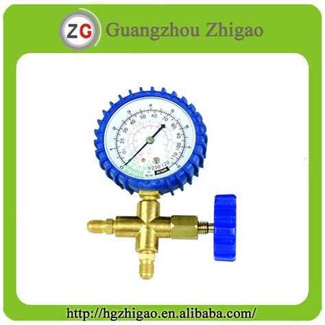 Single Manifold Ct 466 R 22 ct mc236 aluminum alloy testing manifolds gauges for r134a coowor