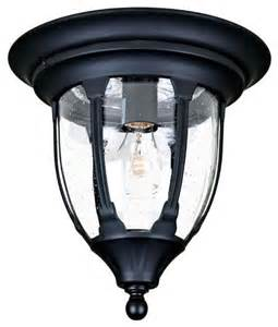Flush Outdoor Lighting Fixtures Suffolk 1 Light 11 Width Outdoor Flushmount Ceiling