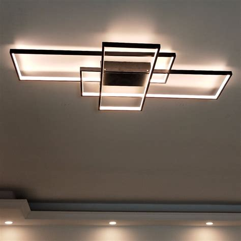 Led Lights Ceiling Fixtures Quot Blocks Quot Ultra Modern Light Fixture Modern Place