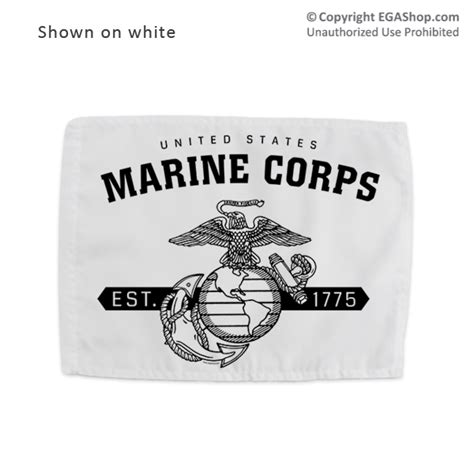 aztec warrior with marine corps emblem on his shield by run in support of your recruit or marine