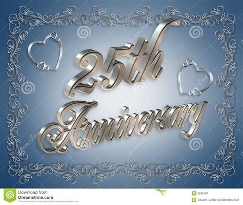 25th Anniversary Wedding by 25th Wedding Anniversary Cards Free