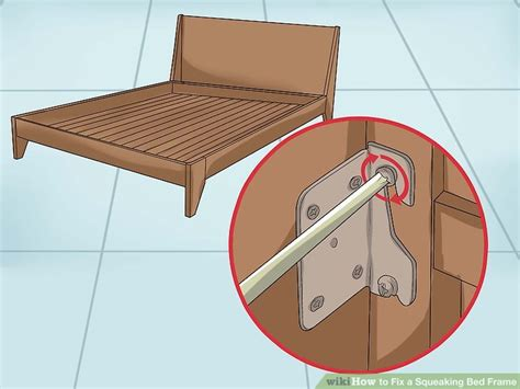 How To Stop A Bed Frame From Squeaking How To Fix A Squeaking Bed Frame Wikihow