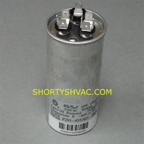 discharge dual run capacitor carrier dual run capacitor p291 4553rs p2914553rs 38 00 shortys pumps division of