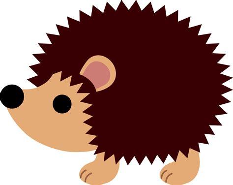Hedgehog Clipart brown hedgehog free clip
