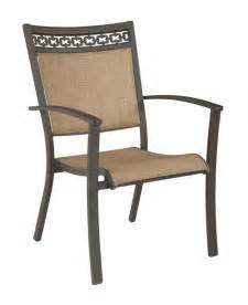 Patio Chair Slings Carmadelia Patio Sling Chairs