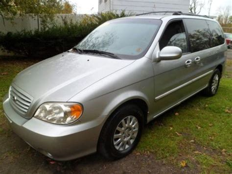 airbag deployment 2003 kia sedona parental controls sell used 2003 kia sedona 4door lx 3 5liter 6cylinder 3rows with ice cold air conditioning in