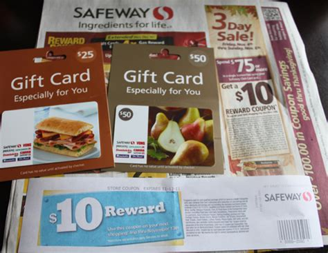 Safeway Gift Cards List - hot safeway spend 75 on safeway gift cards get 10 off your next order roll for