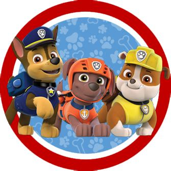 paw patrol party rubble png pictures to pin on pinterest paw patrol in red and blue free printable party kit