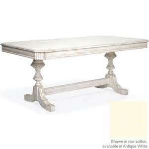 Country French Dining Room Tables carved dining table in antique white
