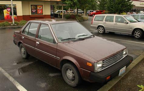 nissan datsun 1982 parked cars 1982 datsun nissan sentra sedan