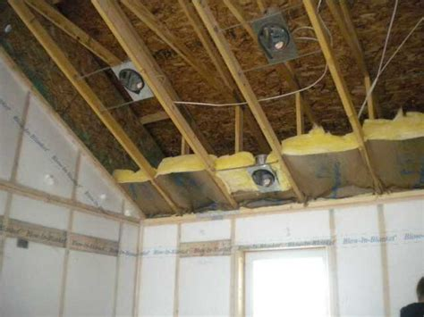 how to insulate a vaulted ceiling insulation bscconstruction s