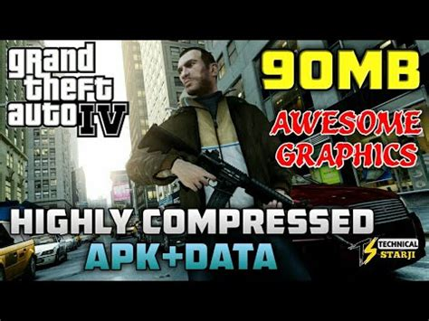 [90mb] how to download highly compressed gta 4 apk+data