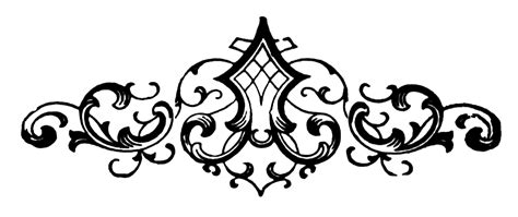 free decorative scroll hanslodge clip art collection