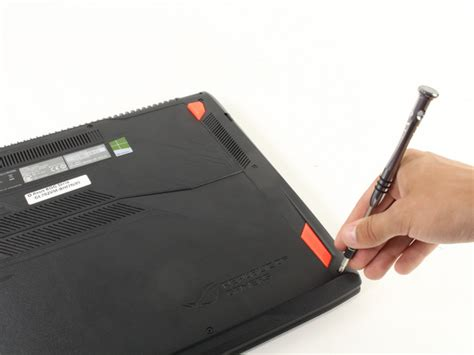 Asus Rog Laptop Replacement Parts asus rog strix gl702vm bhi7n09 fan replacement ifixit