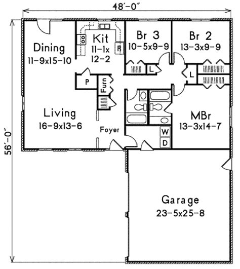 l shaped houses with garage specs price release date ranch style house plan 3 beds 2 baths 1440 sq ft plan