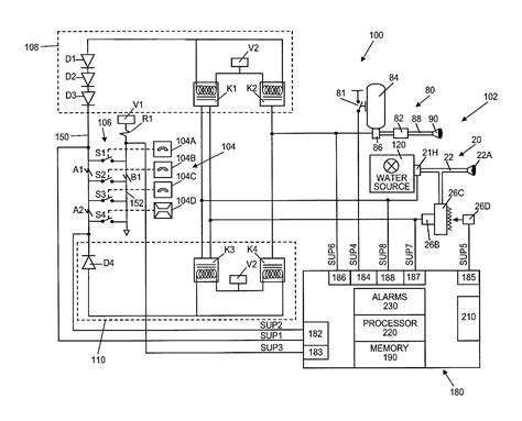 ansul system wiring diagram us08378834 20130219 d00000 on ansul system wiring diagram