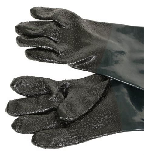 replacement protective gloves for sand dragway tools rubber sandblasting gloves for model 60 90