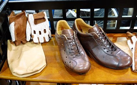 Handmade Cycling Shoes - nahbs dromarti italian leather cycling shoes and gloves
