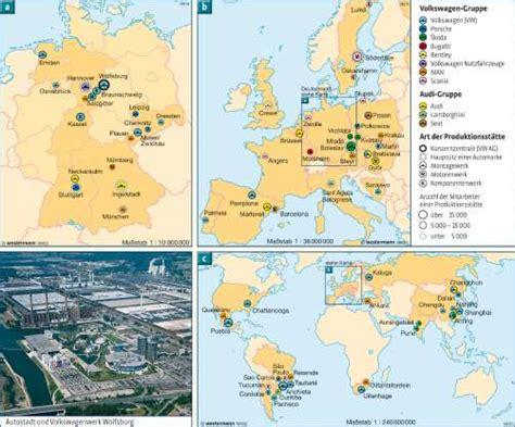 Porsche Produktionsstandorte by Heimat Und Welt Kartenansicht