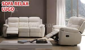 sofa relax sof 225 relax piel lugo