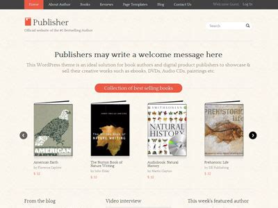 publisher theme junkie free download publisher wordpress theme for selling products with e