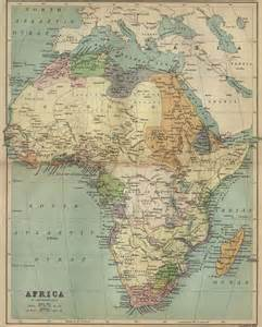 A Map Of Africa by Whkmla Historical Atlas Africa Page