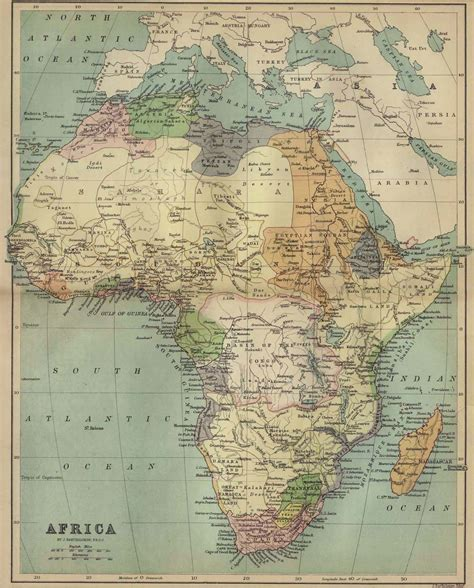 africa map history whkmla historical atlas africa page