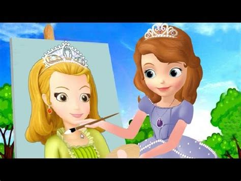 film cinderella yt sofia the first painting amber sofia s face painting