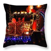 lighted pillows and blankets lighted cement truck photograph by randy harris