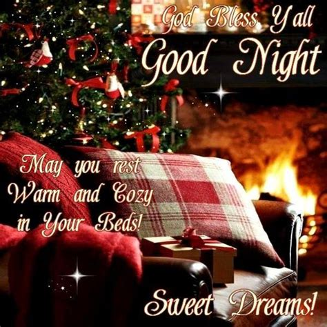 good night christmas sognando  sogni good night good night prayer good night blessings