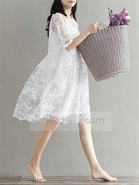 Summer Embroidery Dress save one summer lace embroider dress boat