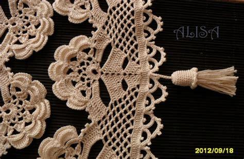 Bordure En Crochet Pour Armoire by Bordure Au Crochet La F 233 E Tonnante
