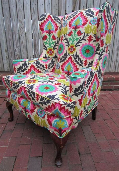 Colorful Accent Chair Colorful Print Accent Chair Chairs Seating