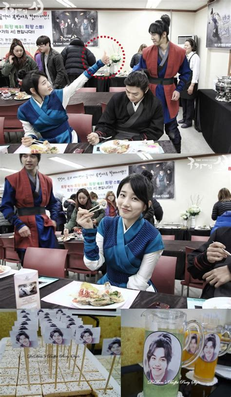 lee seung gi english speaking suzy gives lee seung gi fans a thumb up for catered buffet