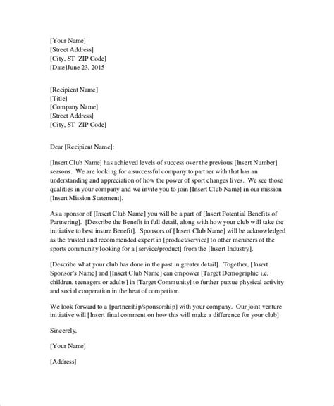 Business Letter Template Partnership 21 Business Letter Exles