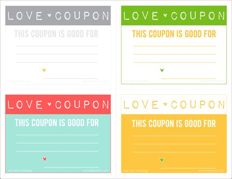 free printable love coupons templates love coupons free download kiki company