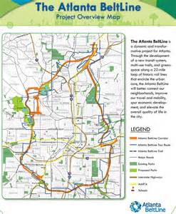Atlanta Beltline Map by Atlanta Beltline Maplets