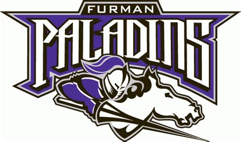 furman paladins furman university paladins college mascots and logos
