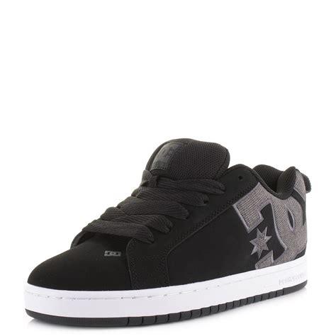 Dc Court Graffik Se Black Grey Mens Trainers Treds Mens Dc Court Graffik Se Black Grey Casual Classic Skateboard Trainers Shoe Size Ebay